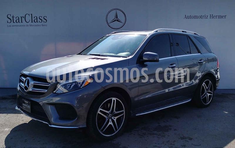 Mercedes Clase GLE SUV 500 Biturbo usado (2018) color Gris precio $849,900