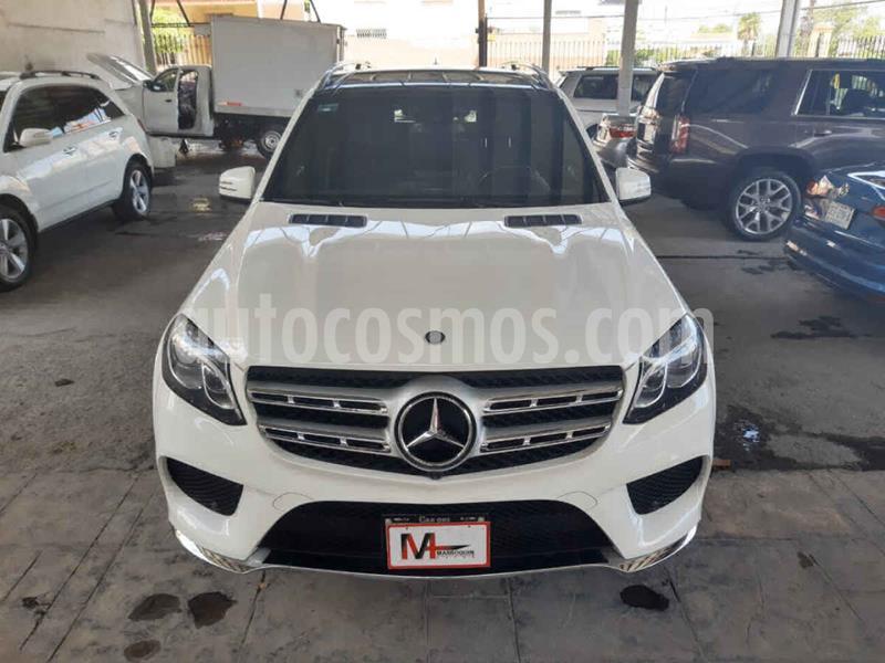 Mercedes Clase GLS 500 usado (2017) color Blanco precio $820,000