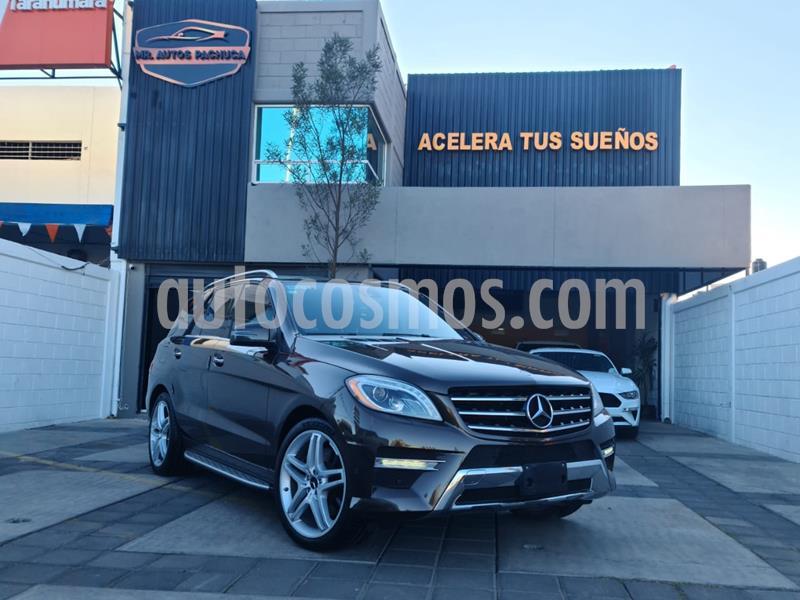 Mercedes Clase M ML 500 CGI Biturbo usado (2013) color Marron precio $399,000