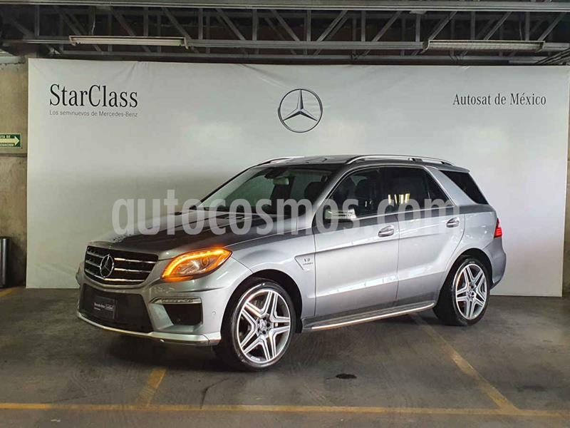 Mercedes Clase M ML 63 AMG usado (2012) color Plata precio $519,000