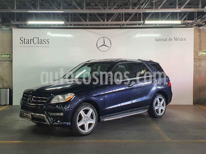 Mercedes Clase M ML 350 Sport AMG Paq Confort usado (2012) color Azul precio $299,000