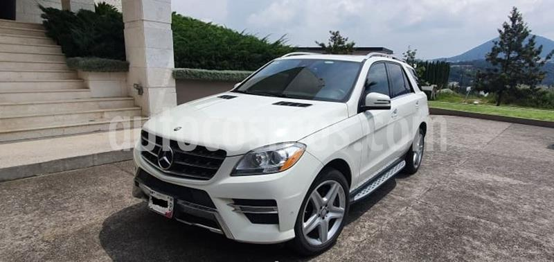 Mercedes Clase M ML 350 CGI Sport AMG usado (2012) color Blanco Diamante precio $325,000