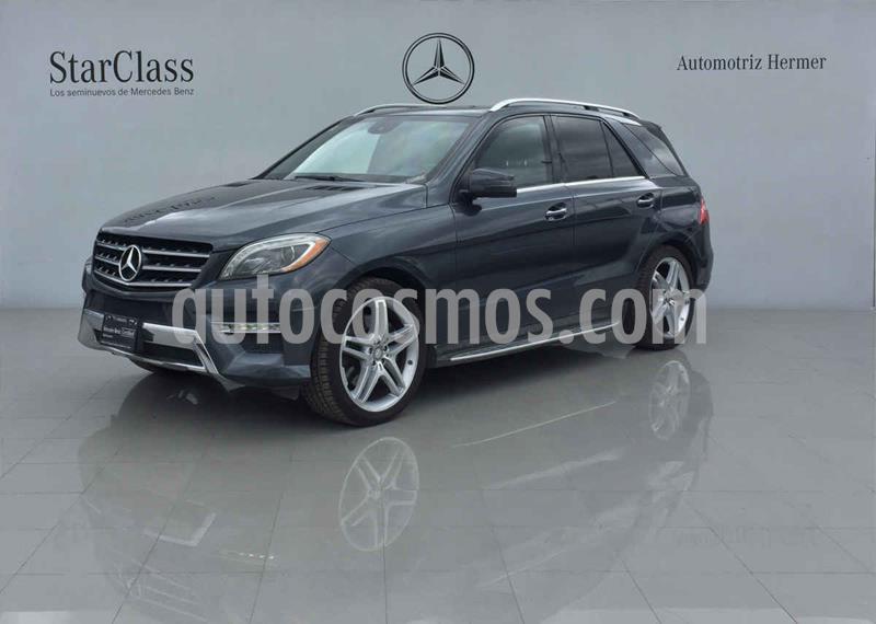 Mercedes Clase M ML 500 CGI Guard VR4 usado (2013) color Gris precio $649,900