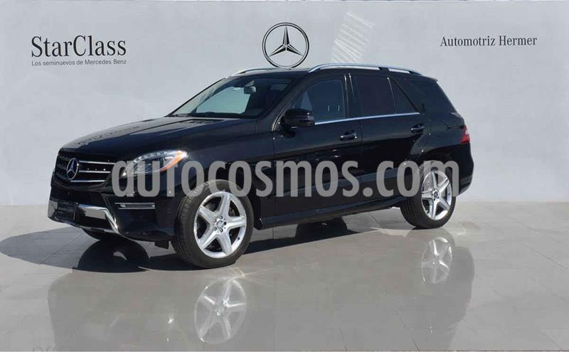 Mercedes Clase M ML 500 (306hp) usado (2013) color Negro precio $699,900