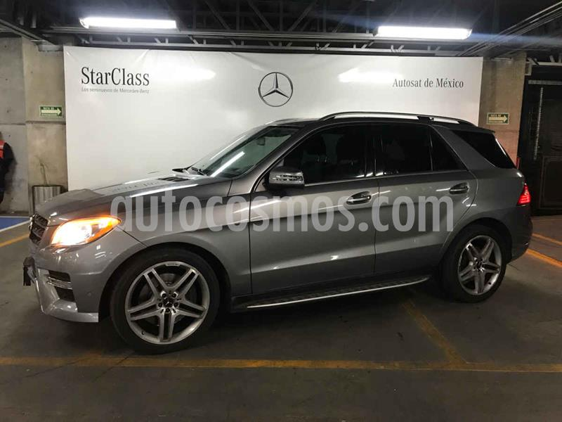 Mercedes Clase M ML 500 (306hp) usado (2013) color Plata precio $399,000