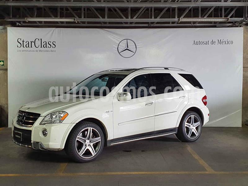 Mercedes Clase M ML 63 AMG usado (2010) color Blanco precio $389,000