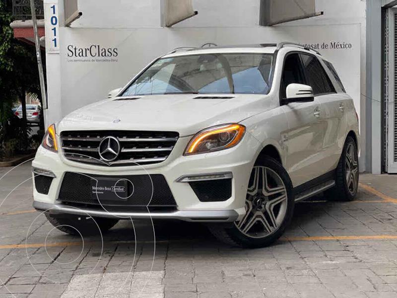 Foto Mercedes Clase M ML 63 AMG usado (2013) color Blanco precio $510,000