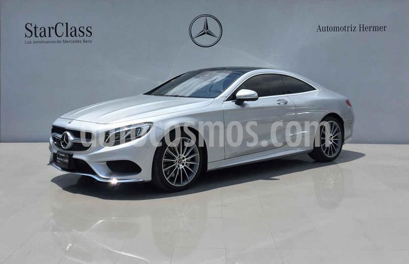 Mercedes Clase S Coupe 500 CGI usado (2017) color Plata precio $1,879,900
