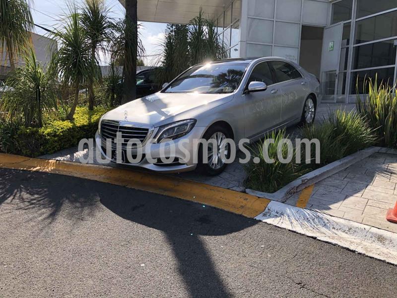 Mercedes Clase S 500 usado (2016) color Plata Dorado precio $795,000