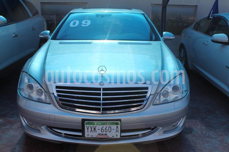 Foto Mercedes Clase S 500 CGI L Bi-Turbo (435Hp) usado (2009) color Plata precio $380,000