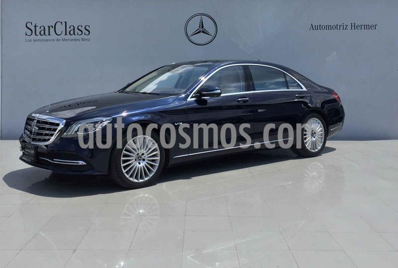 Mercedes Clase S 600 usado (2019) color Azul precio $2,299,900