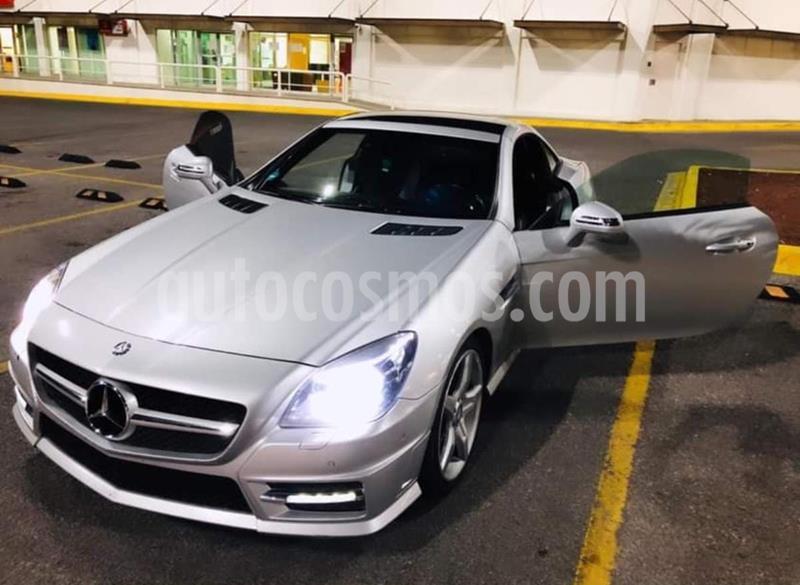 Mercedes Clase SLK 200 CGI usado (2013) color Plata Iridio precio $355,000