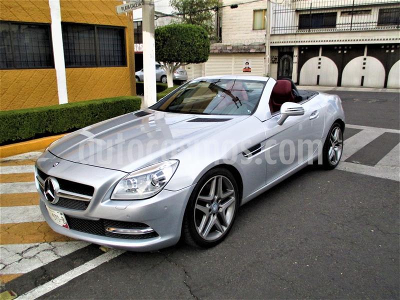 Mercedes Clase SLK 350 CGI usado (2012) color Plata Iridio precio $339,900