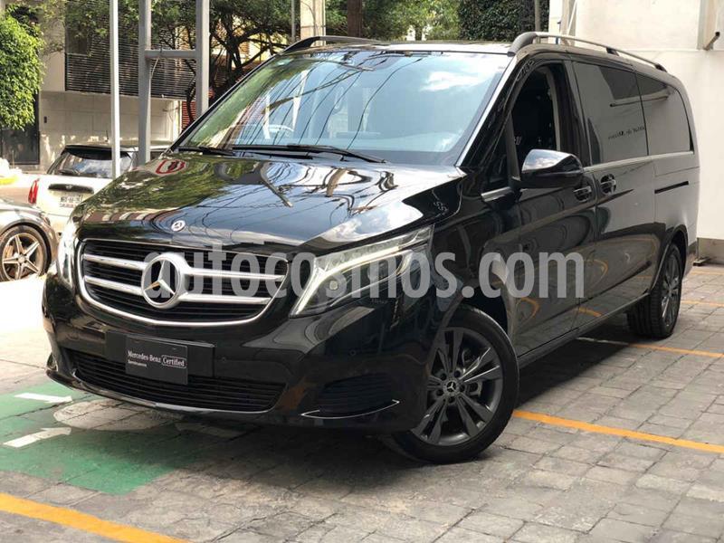 Mercedes Clase V 220d 7 Pasajeros Larga usado (2019) color Negro precio $950,000