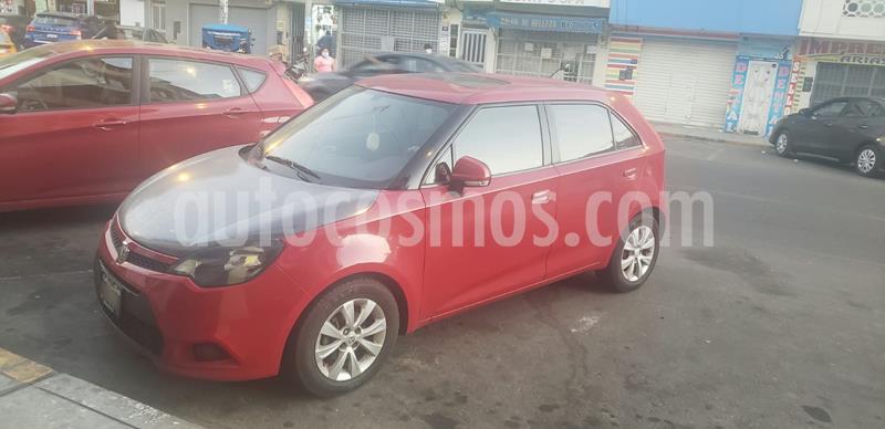 MG MG3 1.5 Comfort usado (2012) color Rojo precio u$s5,500