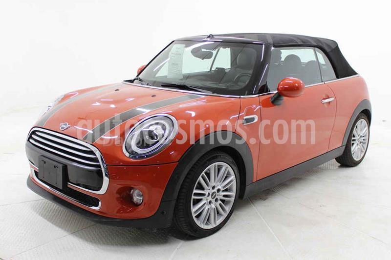 MINI Cooper Convertible Pepper Aut usado (2019) color Naranja precio $409,000