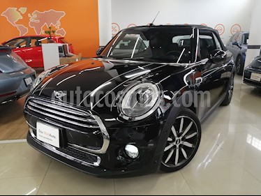 MINI Cooper Convertible Pepper Aut usado (2018) color Negro Medianoche precio $378,000