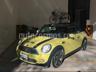 MINI Cooper Convertible S Hot Chili usado (2010) color Amarillo precio $160,000
