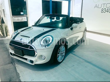 foto MINI Cooper Convertible S Hot Chili usado (2017) color Blanco precio $365,000