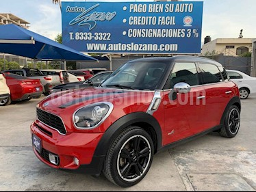 MINI Cooper Countryman S Hot Chili Aut usado (2014) color Rojo precio $249,900