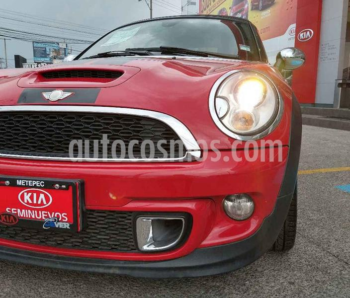 MINI Cooper Roadster S Hot Chili Aut usado (2013) color Rojo precio $249,900