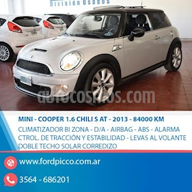 MINI Cooper Roadster  S 1.6L usado (2013) color Gris Claro
