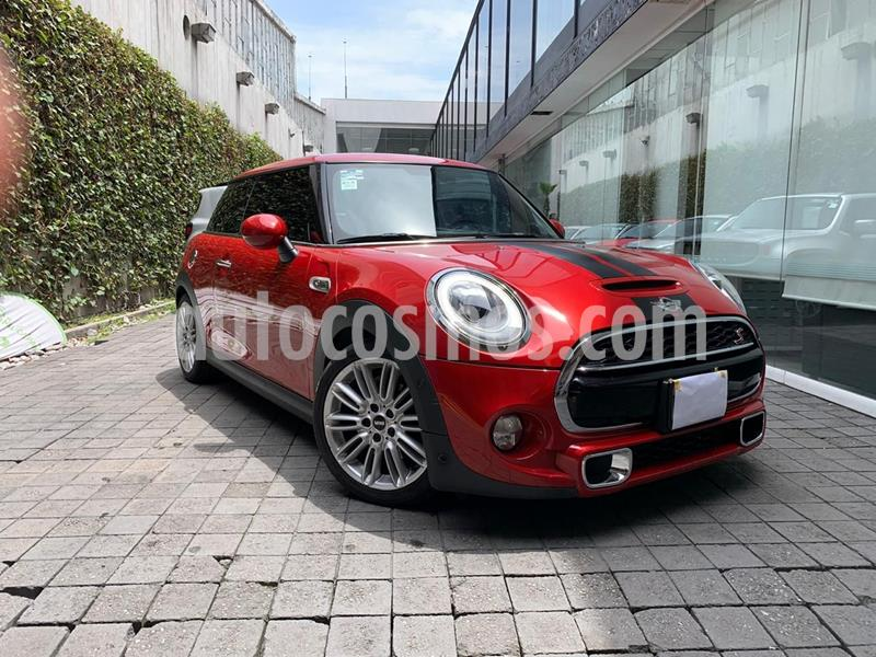 MINI Cooper S Hot Chili usado (2017) color Rojo precio $330,000