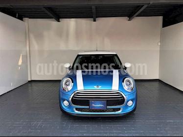 MINI Cooper 3p Pepper L3/1.5/T Aut usado (2017) color Azul precio $329,000