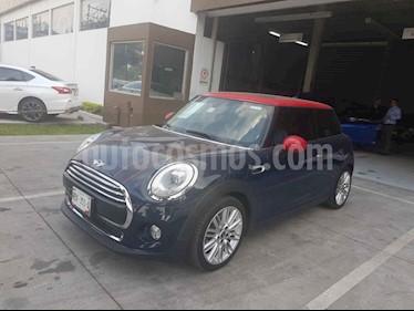 Foto venta Auto usado MINI Cooper Pepper Aut (2018) color Azul precio $332,900