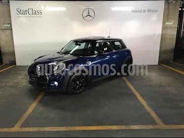 Foto venta Auto usado MINI Cooper Pepper (2017) color Azul precio $339,000