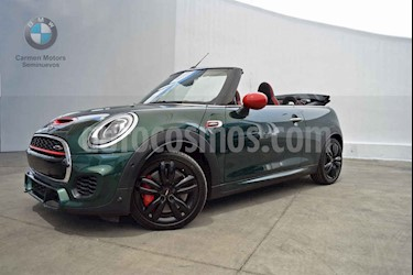MINI John Cooper Works Convertible Aut usado (2018) color Verde precio $465,000