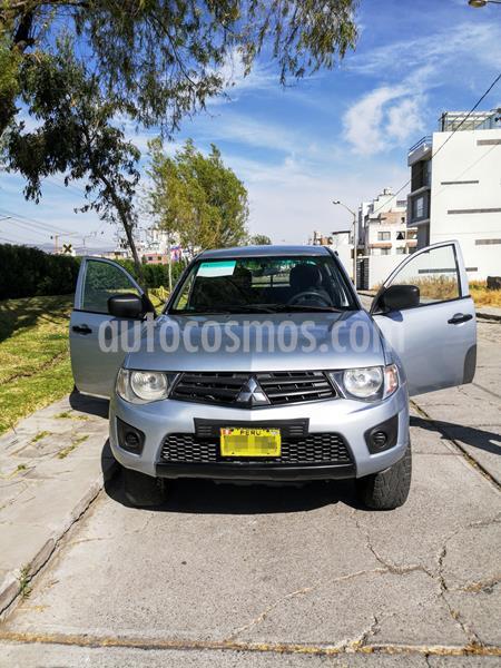 Mitsubishi L200 2.4L 4x4 TD HP GLS MT usado (2012) color Plata precio u$s14,500