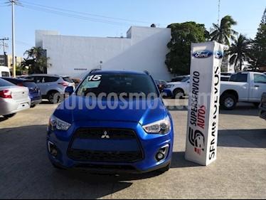 Foto venta Auto usado Mitsubishi ASX 2.0L ES (2015) color Azul precio $205,000