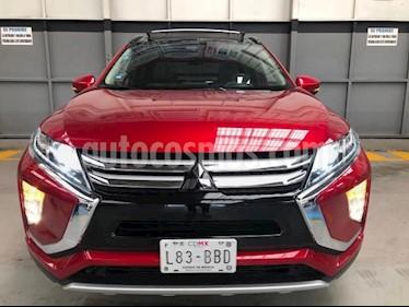 Mitsubishi Eclipse Cross 5P LIMITED 1.5T CVT CLIMATRONIC PIEL QCP F. LED R usado (2019) color Rojo precio $440,000