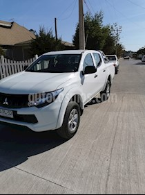 Mitsubishi Motors L-200 2.4L Work CR 4X2 usado (2018) color Blanco precio $12.490.000