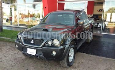 Foto venta Auto usado Mitsubishi L200 4x4 2.5 DI-D CD Aut (2007) color Negro