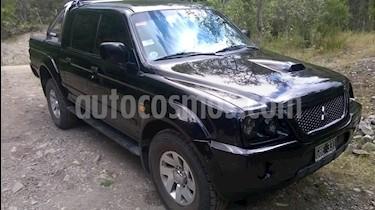 Foto venta Auto usado Mitsubishi L200 4x4 2.5 Sport HPE CD (2007) color Negro precio $410.000