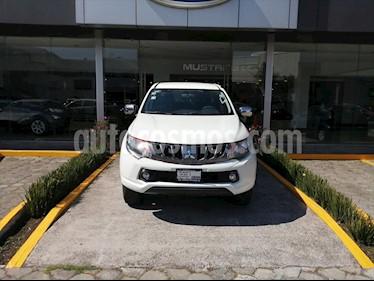 Mitsubishi L200 GLS DIESEL DOBLE CABINA 4X4 usado (2017) color Blanco precio $310,000