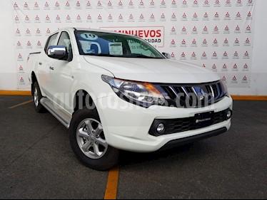 Mitsubishi L200 GLS 4x4 Diesel usado (2019) color Blanco precio $405,000