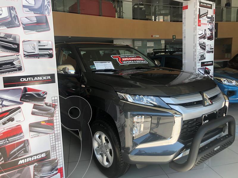 Foto Mitsubishi L200 GLX Diesel 4x4   usado (2021) color Gris Grafito precio $536,500