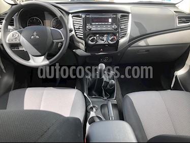 Mitsubishi L200 GLS 4x4 Diesel usado (2019) color Blanco precio $379,000
