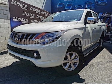 Mitsubishi Motors L200 4x2 2.4L Cabina Simple usado (2018) color Blanco precio $310,000