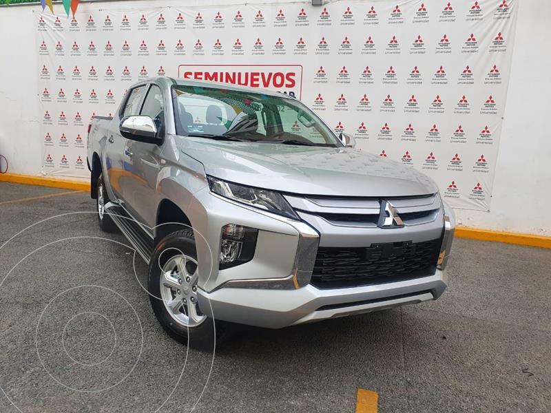 Foto Mitsubishi L200 GLX 4x4   usado (2021) color Plata Metalico precio $498,000
