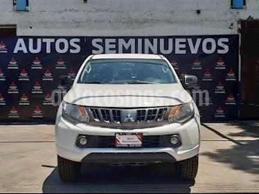 Mitsubishi Motors L200 GLX 4x4 Diesel usado (2017) color Blanco precio $290,000