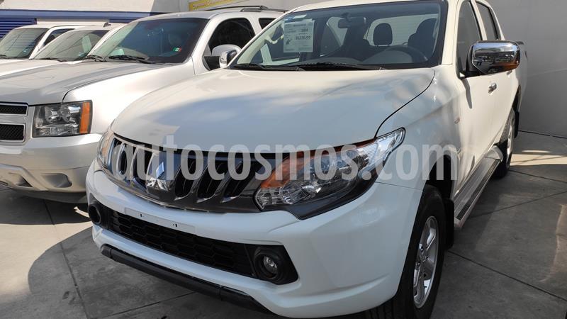 Mitsubishi L200 GLS 4x4 Diesel usado (2018) color Blanco precio $298,000