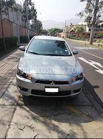 Foto venta Auto usado Mitsubishi Lancer 1.6L GLS Aut (2013) color Plata precio u$s10,000