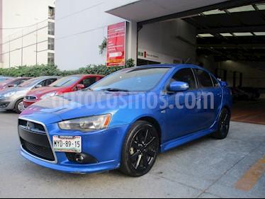 Foto venta Auto usado Mitsubishi Lancer 4p GTS S S L4/2.4 Aut (2015) color Azul precio $208,000