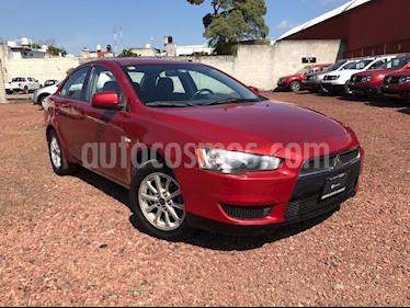 Foto venta Auto usado Mitsubishi Lancer ES CVT (2010) color Rojo precio $95,000