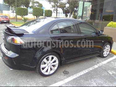 Mitsubishi Lancer GTS CVT Sun & Sound usado (2015) color Negro precio $195,000