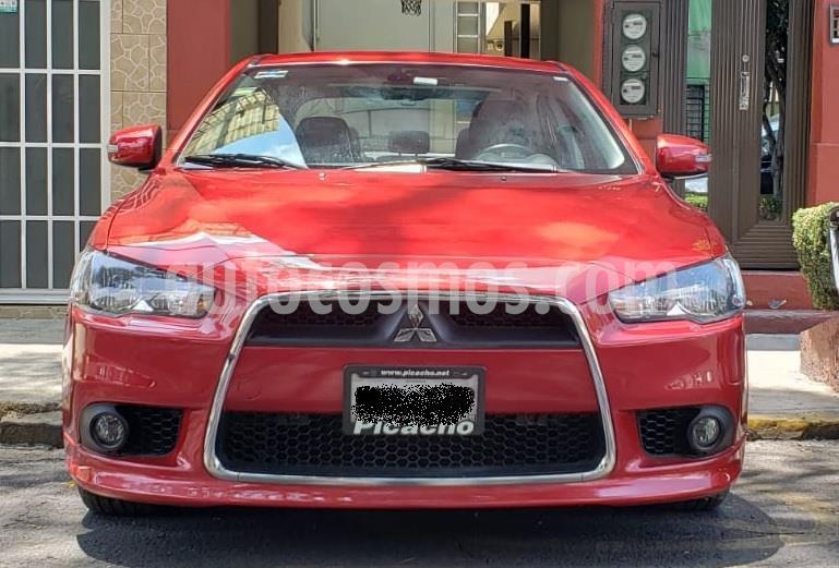 Mitsubishi Lancer ES CVT  usado (2015) color Rojo Rally precio $145,000